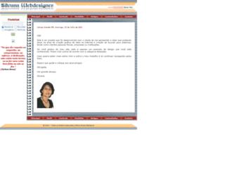 silvanawebdesigner.planetaclix.pt screenshot