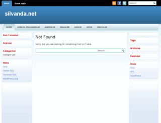 silvanda.com screenshot