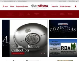 silver-editions.co.uk screenshot