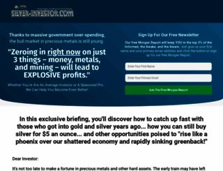silver-investor.com screenshot