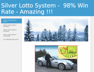 silver-lotto.weebly.com screenshot