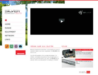 silver-pop-up-caravans.com screenshot