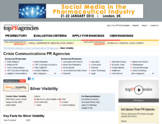silver-visibility.toppragencies.com screenshot