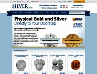silver.com screenshot