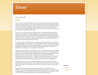 silver.goldprice.org screenshot