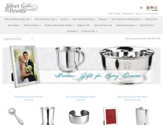 silverandpewtergifts.com screenshot