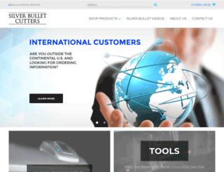 silverbulletcutters.com screenshot