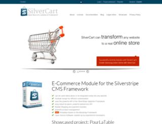 silvercart.org screenshot