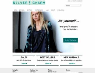 silvercharmclothing.com screenshot