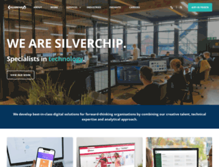 silverchip.co.uk screenshot