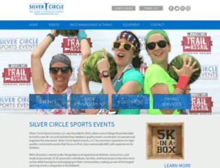 silvercirclesportsevents.com screenshot