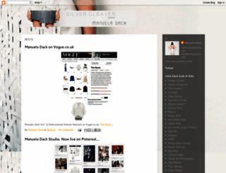 silvercleaver.blogspot.com screenshot