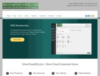 silvercloudhq.com screenshot