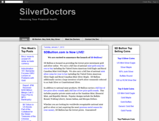 silverdoctors.blogspot.com screenshot