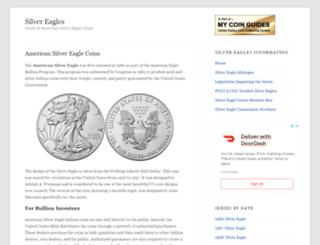 silvereagleguide.com screenshot