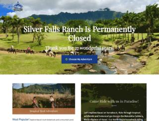 silverfallsranch.com screenshot