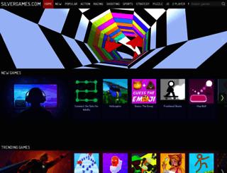 silvergames.com screenshot