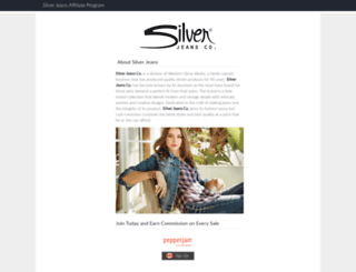 silverjeans.affiliatetechnology.com screenshot