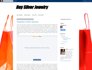 silverjewelery-silverring.blogspot.com screenshot