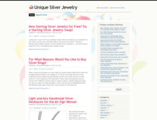 silverjewelryblog.wordpress.com screenshot