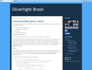 silverlightbr.blogspot.com screenshot