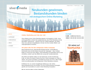 silvermedia-address.de screenshot