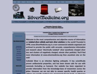 silvermedicine.org screenshot