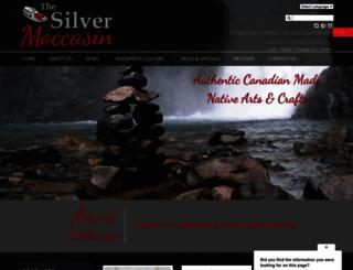 silvermoccasin.com screenshot