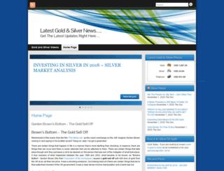 silvernews.ezstocktrader.com screenshot