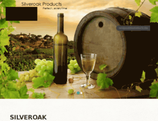 silveroakproducts.com screenshot