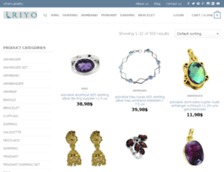 silvers-jewelry.com screenshot