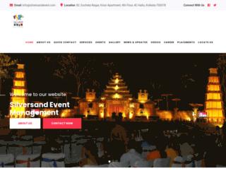 silversandevent.com screenshot