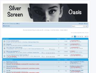 silverscreenoasis.com screenshot
