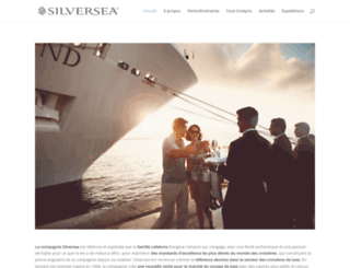 silverseacruises.fr screenshot