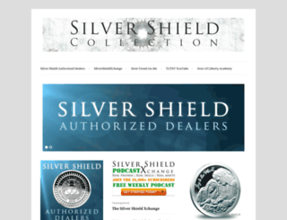 silvershieldcollection.com screenshot