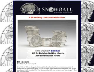 silversnowball.com screenshot