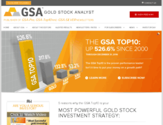 silverstockanalyst.com screenshot