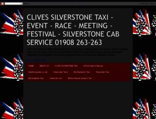 silverstonetaxi.blogspot.co.uk screenshot