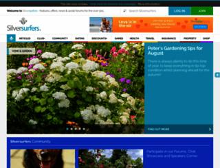 silversurfers.com screenshot