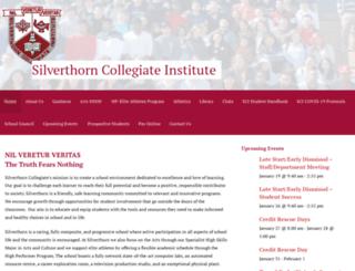 silverthornci.com screenshot
