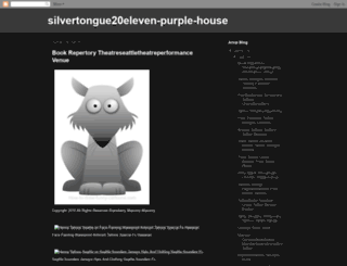 silvertongue20eleven-purple-house.blogspot.ca screenshot