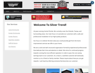 silvertrend.us screenshot