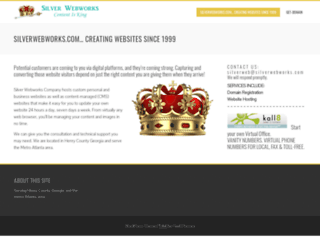 silverwebworks.com screenshot