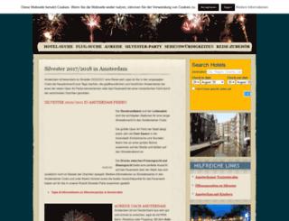 silvester-amsterdam.de screenshot
