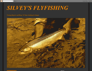 silveysflyfishing.blogspot.com screenshot