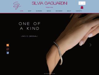 silviagagliardini.com screenshot