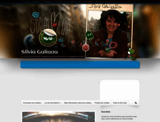 silviagaliana.com screenshot