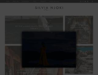 silvianjoki.com screenshot
