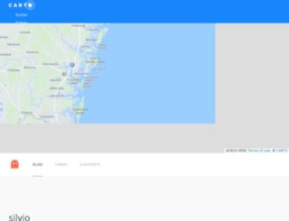 silvio.cartodb.com screenshot