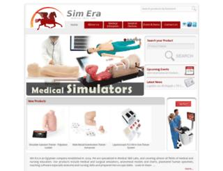 sim-era.com screenshot